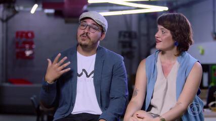 Conheça a história de Marcos e Letícia, os participantes do 'The Wall'