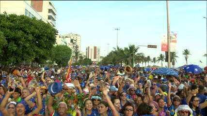 Blocos devem levar 7 milhões de foliões às ruas do Rio de Janeiro