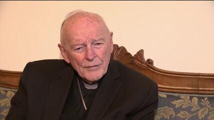 Vaticano expulsa ex-cardeal McCarrick, acusado de abusos sexuais
