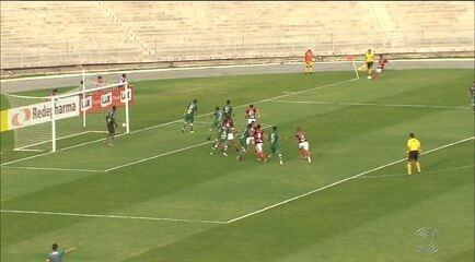 Confira como foi o empate entre Campinense e Sousa no Amigão