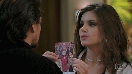 Jerônimo fica furioso por Vanessa ter descoberto a verdade