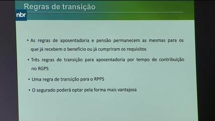 Secretário de Previdência explica as novas regras de transição de aposentadoria