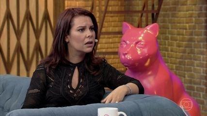Fernanda Souza afirma que não é ciumenta
