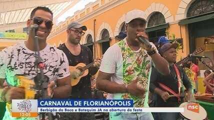NSC TV realiza 'Botequim JA' direto do Mercado Público de Florianópolis
