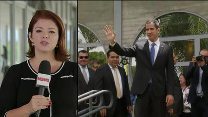 Guaidó se reúne com Bolsonaro nesta tarde de quinta-feira (28) em Brasília