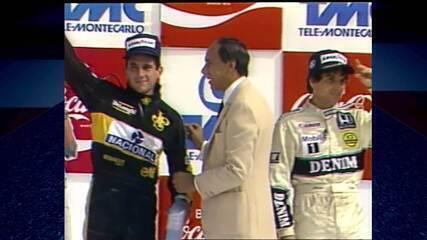 Túnel do Tempo: assista ao GP do Brasil de 1986 no SporTV2