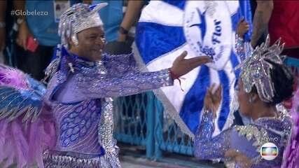 Selminha e Claudinho são porta-bandeira e mestre-sala da Beija-Flor há 27 anos