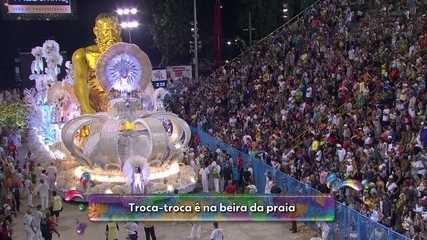 Imperatriz Leopoldinense conta a historia do dinheiro em samba