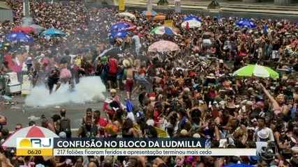 Polícia investiga como iniciou a confusão no bloco da cantora Ludmilla