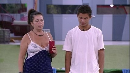 Tereza diz a Danrley: 'Como eu desejei que Elana ganhasse'
