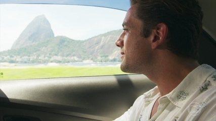 Daniel se encanta com o Rio de Janeiro