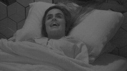 Tereza revela para brothers: 'Vou dormir nua'