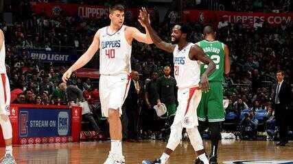 Melhores momentos de Boston Celtics 115 x 140 Los Angeles Clippers pela NBA