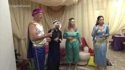 Convidados chegam ao jantar de Sâmia