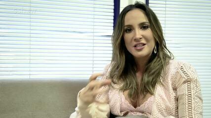 Claudinha conta os desejos da gravidez de Bela