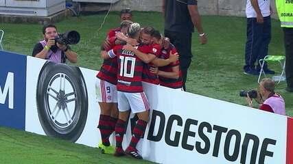 Melhores Momentos de Flamengo 3 X 1 LDU pela Taça Libertadores 2019