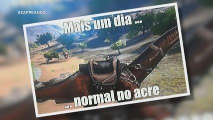 Parte 2: Em Rio Branco, dupla conhece o DinoAcre