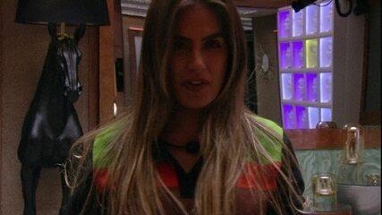 Rízia lembra combinação para definir o Monstro e Carolina alerta: 'Mas todo mundo já foi'