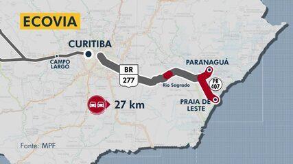 Especial pedágios no Paraná: Ecovia deveria de ter duplicado toda rodovia em Paranaguá