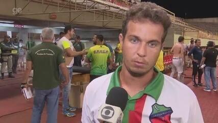 Após derrota e eliminação do Humaitá no 1º turno do Acreano, técnico crítica arbitragem