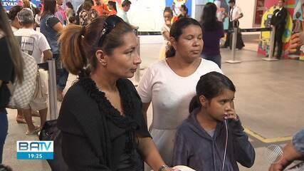 Venezuelanos desembarcam na Bahia e vão para instituição religiosa de jesuítas