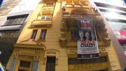 Neto Fagundes visita o Centro Cultura Erico Verissimo, em Porto Alegre, no De Mala e Cuia