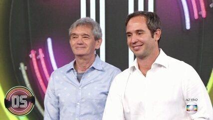 Serginho Groisman e Caio Ribeiro acertam e Alceu Valença vai ao palco