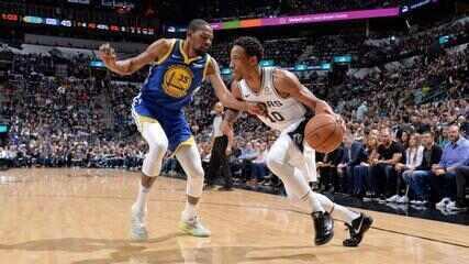 Melhores momentos: Golden State Warriors 105 x 111 San Antonio Spurs pela NBA