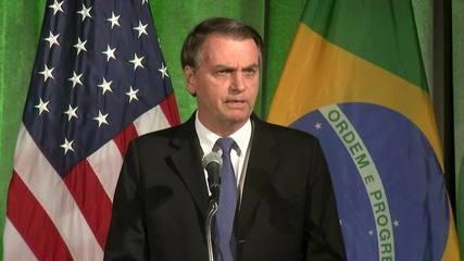 Expectativa é grande para encontro entre Bolsonaro e Trump na Casa Branca