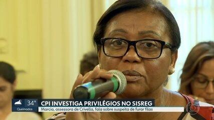 Márcia, assessora de Crivella suspeita de furar fila em hospitais, presta depoimento