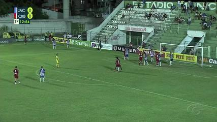 Gols de Jaciobá 2 x 3 CRB, pela semifinal do Alagoano