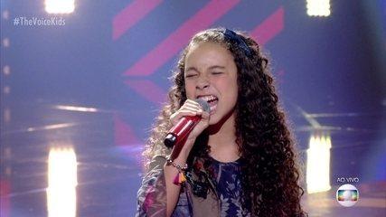 Luíza Barbosa canta 'Malandragem'