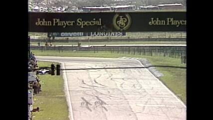 Tema da Vitória toca para Alain Prost no GP do Brasil de 1984