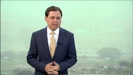 Gerson Camarotti comenta os bastidores da política em Brasília