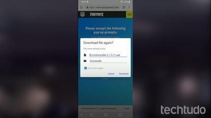 Como baixar Fortnite em celulares com Android