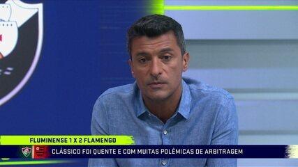 Sandro Meira Ricci analisa polêmicas de arbitragem na vitória do Flamengo sobre o Fluminense na semifinal da Taça Rio
