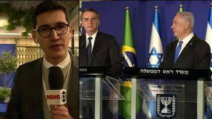 Bolsonaro e premiê israelense assinam vários acordos