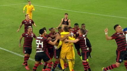 Os gols de Vasco x Flamengo com pênaltis
