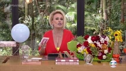 Ana Maria Braga abre o 'Mais Você' no dia de seu aniversário