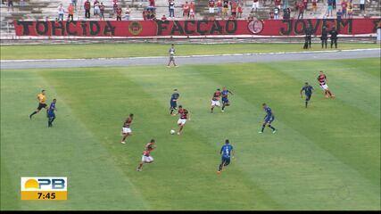 Confira como foi o empate entre Campinense e Atlético-PB pela semifinal do Paraibano