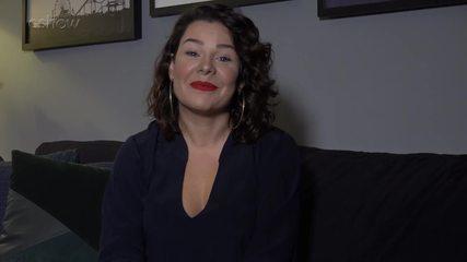 Fernanda Souza mada recado para Sandy e Junior