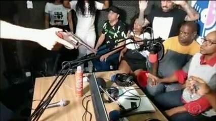 Assalto a rádio de SP é transmitido ao vivo pela internet