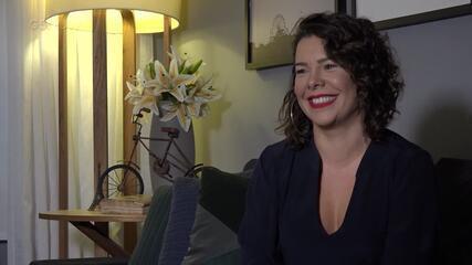 Fernanda Souza conta como conheceu Sandy
