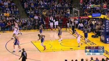 Melhores momentos:Golden State Warriors 120 x 114 Cleveland Cavaliers pela NBA