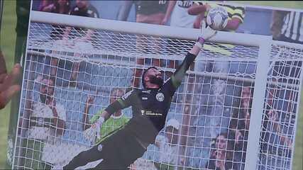 Muralha ganha quadro com bela defesa que fez contra o Paraná Clube