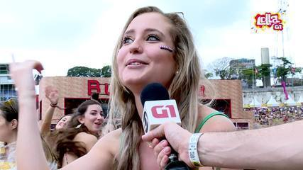 Público do Lolla comenta interrupção após raios e chuva