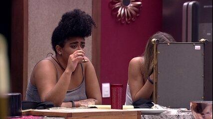 Rízia relembra Paredão com Gabriela: 'Foi difícil'