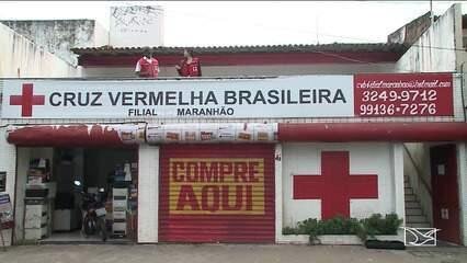 Cruz Vermelha recebe doações para desabrigados pelas chuvas no Maranhão