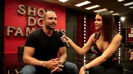 Diogo Nogueira fala sobre preparação e expectativa para estreia no 'Show dos Famosos'