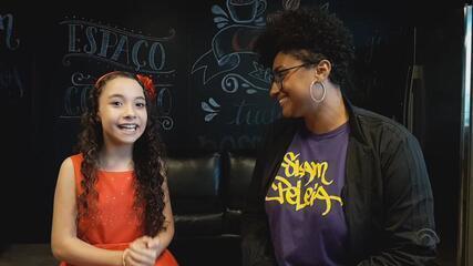 Luiza Barbosa fala sobre expectativa para a Final do 'The Voice Kids'